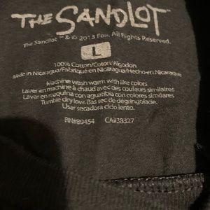 The Sandlot Shirts - The Sandlot Slugger Black Ted XL Tee Shirt